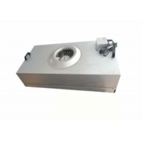 Buy cheap Clean Room Hepa Fan Filter Unit Coil Filtered Exhaust Fan Galvanized Plate product