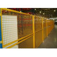 Buy cheap Indoor Warehouse Safety Fences , Security Steel Fencing 1.5-3m Width product