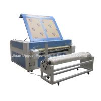 Buy cheap Double Heads 1600*1000mm Co2 Fabric Laser Cutting Machine product
