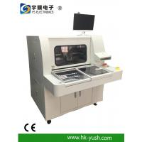 Buy cheap Off - line top CNC PCB Router with rotary and sliding table / dual boxes product