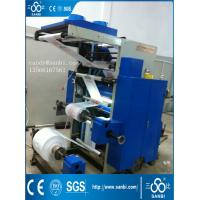 Buy cheap 2 Color 600 / 800 / 1000 Mm Flexographic Printing Machine 50m/Min product