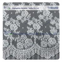 China Countless flowers  3*1.5m size  100% nylon chantilly lace fabric for Wedding dress on sale