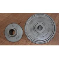 China Wheel carbon steel sand casting parts zinc plating by cut and grind gate wholesale