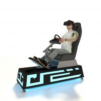 China 3 Games VR Racing Simulator , VR Auto Simulator 0.8 Square Meter Operate Area on sale