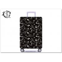 Buy cheap Custom Illustration Logo Luggage Case Cover Sublimation Printed Suitcase Protector Cover product