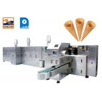 Buy cheap Industrial Sugar Cone Production Line / Egg Rolled Cone Making Machine product