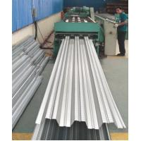 Buy cheap Galvanized Corrugated Steel Roofing Sheets / Floor Deck For Muti - Floor Buildings product