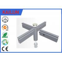 Buy cheap Flat Hollow 6063 T5 T Slot Aluminum Extrusion Profiles With Silver Anodized Surface Treatment product