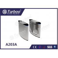 Buy cheap Security Flap Barrier Gate , Optical Barrier Turnstiles For Office Building product