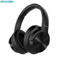 Buy cheap AUSDOM Mixcder NEW E9 Over Ear Airplane Adapter Carrying Case Active Noise Cancelling Bluetooth Headphones With Mic product