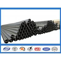 Buy cheap ASTM A36 500KGF Design Load 30FT 11.9M Electric Power Pole for Philippines Transmission Line product