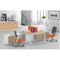 Buy cheap Modular Office Workstation Table 2 Person Dividers Office Cubicle 1200/1400/1600mm product