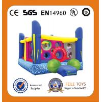 Buy cheap 2014 high quality commercial grade inflatable trampoline for amusement park product