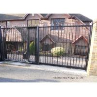 Buy cheap Home Garden Automatic Driveway Gates Pedestrian Swing Gate with Steel Fence from wholesalers