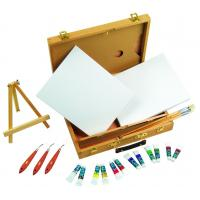 Buy cheap Multi Function Art Painting Set Paint Boxes For Artists 39 X 30 X 8cm product