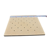 Buy cheap Cordierite Refractory High Temperature Ceramic Plates For shuttle kiln from wholesalers