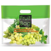 Buy cheap high transparent plastic bag for grape, plastic material and zipper to sealing transparent product