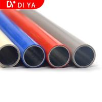 Buy cheap ABS Coated Lean Tube With OD 28MM Galvazined Steel Tube For Industry product