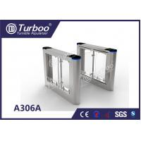 Buy cheap Rainproof Design Office Security Gates / Swing Gate Turnstile For Library product