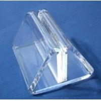 Quality Transparent Acrylic Table Menu Holders With Beautiful Shape for sale