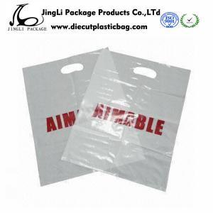 Buy cheap Poly-sac en plastique écologique personnalisé de PE de sacs à main à magasin pour des vêtements product