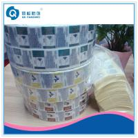 Buy cheap Self Adhesive Plastic Labels For Makeup With Copper Stamping Foil product