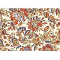 Buy cheap Floral Custom Printed Fabrics Vintage Upholstery Fabric Cloth product