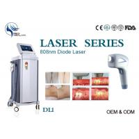 Buy cheap Permanent 808nm Diode Hair Removal Laser Machine Spot Size 12*12mm With Germany Bars product