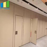 Buy cheap Wood Folding Doors Movable Partition Walls For Office Hotel Decoration product