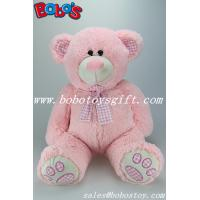 Quality Pink Giant Stuffed Toy Bear with Big Tummy For Promotional Products gifts for sale