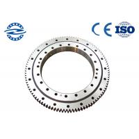Buy cheap Single Row Four Point Contact Ball Slewing Bearing External Gear For Axial Load CRB3010 from wholesalers