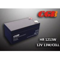 Buy cheap 3.5AH Back Up Regulated Lead Acid Battery , Lightweight 12v Deep Cycle Battery product