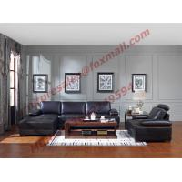 Buy cheap Italy Leather Sofa with L-Shape in Wooden Sofa Set product