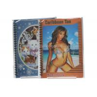 Buy cheap Sexy Girl Design Notebook 3D Lenticular Printing Service Journals PET / PP / PVC Lentiuclar product