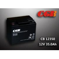 Buy cheap Sealed AGM Lead Acid Battery 12V 35AH CB12350 Solar Wind Elcectricity Supply product