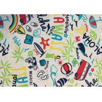 Buy cheap Contemporary Novelty Print Fabric , Sportswear / Suit Printing On Cotton Fabric product