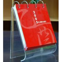 Buy cheap High Quality Desktop Acrylic Calendar Holder With Fashion Shape product