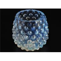 Buy cheap Votive Handmade Glass Candle Holders Colored 530Ml Capacity Elegant product