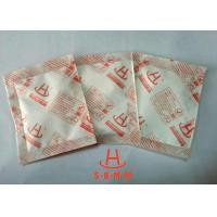 Buy cheap High Absorption Rate Calcium Chloride Desiccant 20g For Container Transportation product