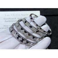 Buy cheap Women'S 18K White Gold Bracelet With Diamonds product