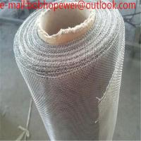 Buy cheap Pure Tungsten Wire Mesh/hot sale Wire Cloth Hard Tungsten Wire Mesh /30mesh Tungsten Wire Mesh/ tungsten wire mesh filte product