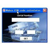 Buy cheap Wabco Diagnostic PIN/PIN2 Calculator with Keygen product