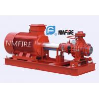 Buy cheap SS420 Shaft Single Stage End Suction Pump 500 Gpm @110psi With Electric Motor Driven product