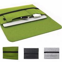 Buy cheap Felt Briefcase Covers / Padded Laptop Bag For 11.6 12 13.3 15.4 Inch Macbook air product