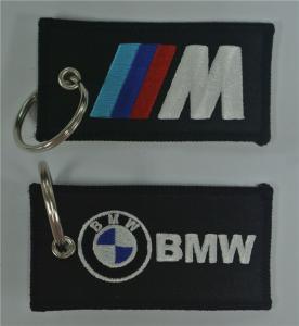 Buy cheap Correias bordadas tela de BMW Keychains product