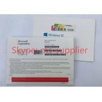 Buy cheap Genuine Windows Proffesional 32/64Bit, Windows 10 Proffesional USB&DVD OEM French Version product