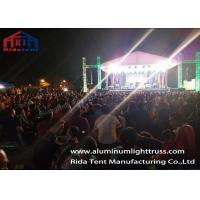 Buy cheap Square Aluminum Stage Lighting Truss 400 X 400 mm / Concert Truss System from wholesalers