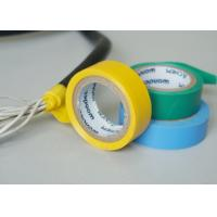 Buy cheap Vinyl Electrical Insulating Heat Resistant Tape , Blue PVC Masking Tape product