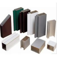 Buy cheap Anodized 6063 Construction Aluminum Profile Extrusion Customized Sections product