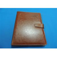 Buy cheap Personalized 1 Color Leather Bound Book Printing A4 B5 With Gloss Lamination product
